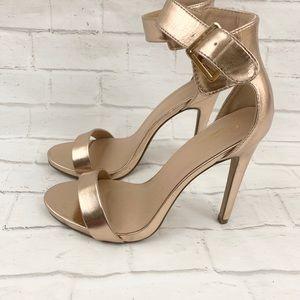 Glaze Rose Gold High Heel Shoes Women's Size 9